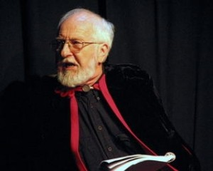 Rick Hite as Julius II, in The Discourse of Folly